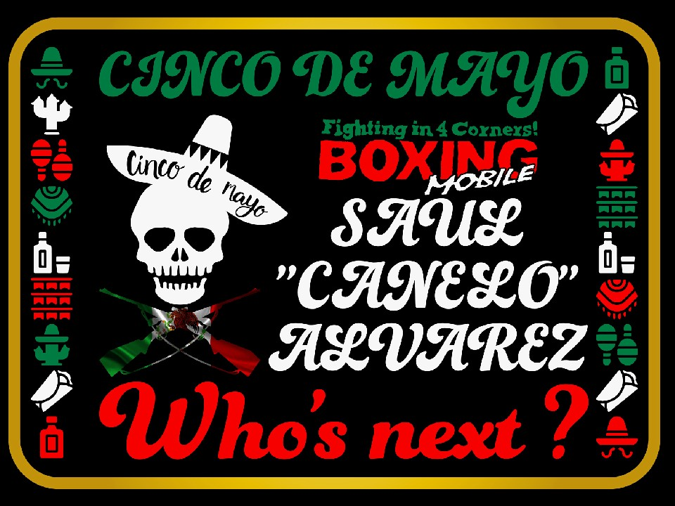 Cinco de Mayo! Who's next?