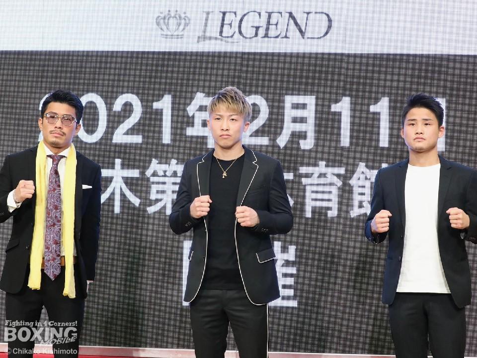 イベント チャリティー legend ボクシング