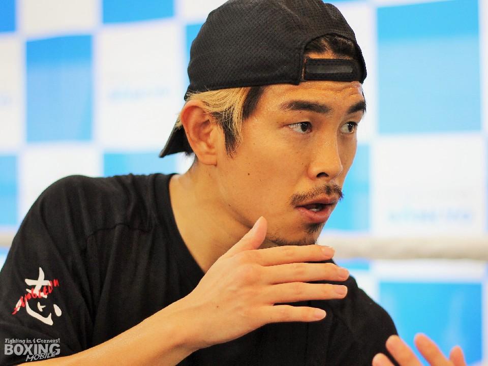 井岡一翔「4階級制覇するのは自分しかいない」