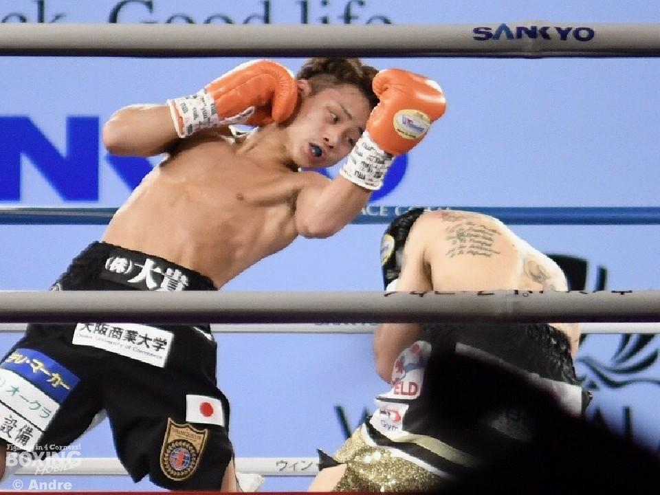 京口紘人が世界2階級制覇に挑んだ!