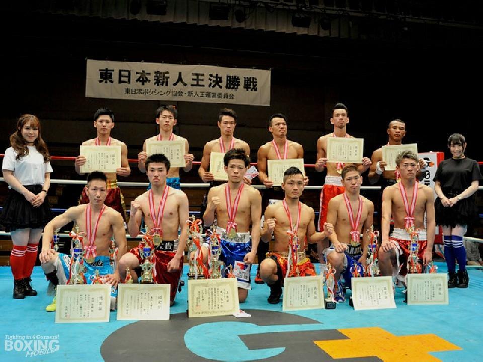 昨年の東日本新人王優勝者