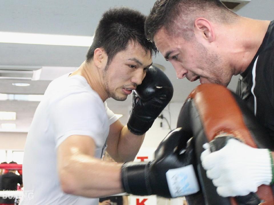 グングンと調子を上げる村田諒太