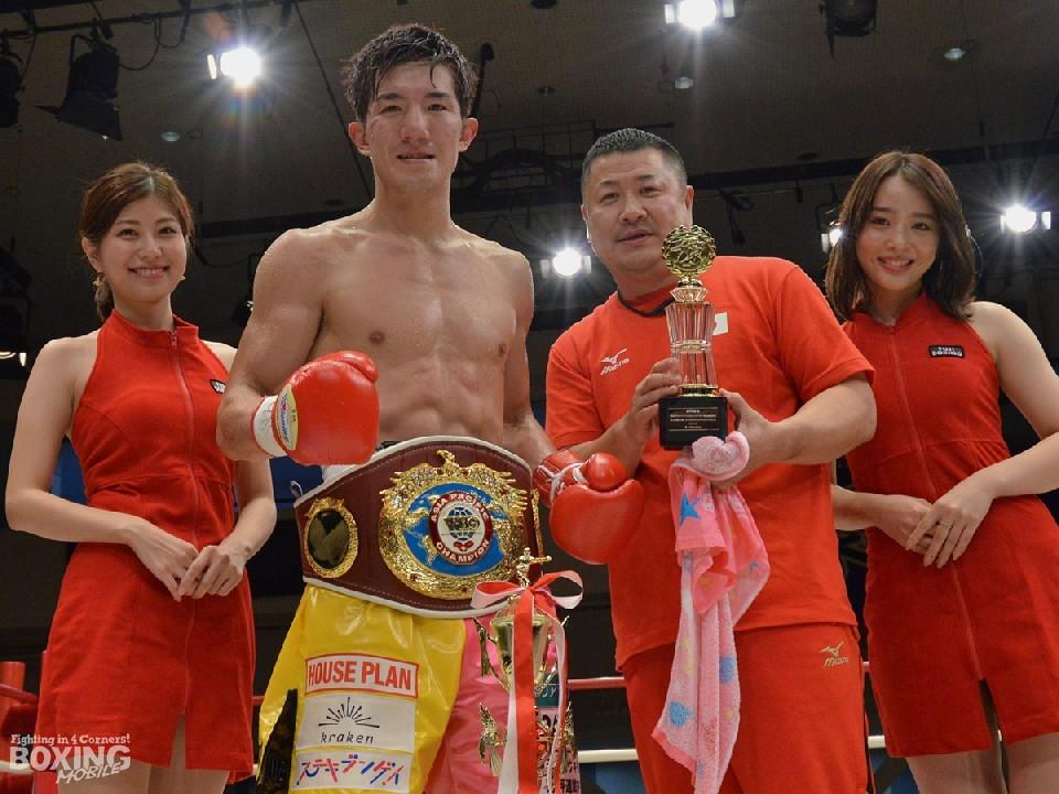 WBOアジアパシフィック・日本の二冠王者:井上浩樹(大橋)