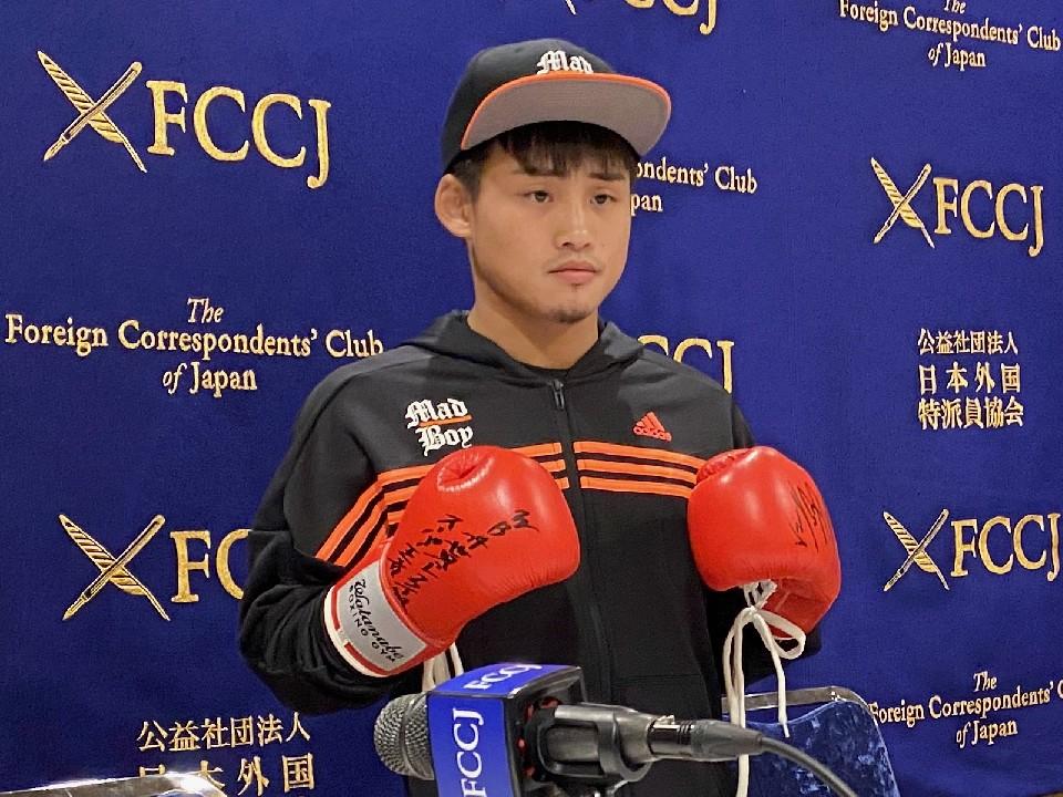 京口紘人が日本外国特派員協会で決意を語った!