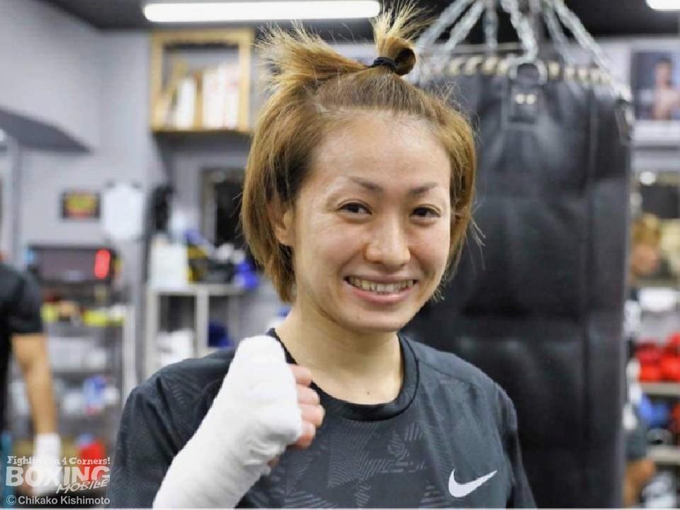 2階級制覇を目指す宮尾綾香(ワタナベ)