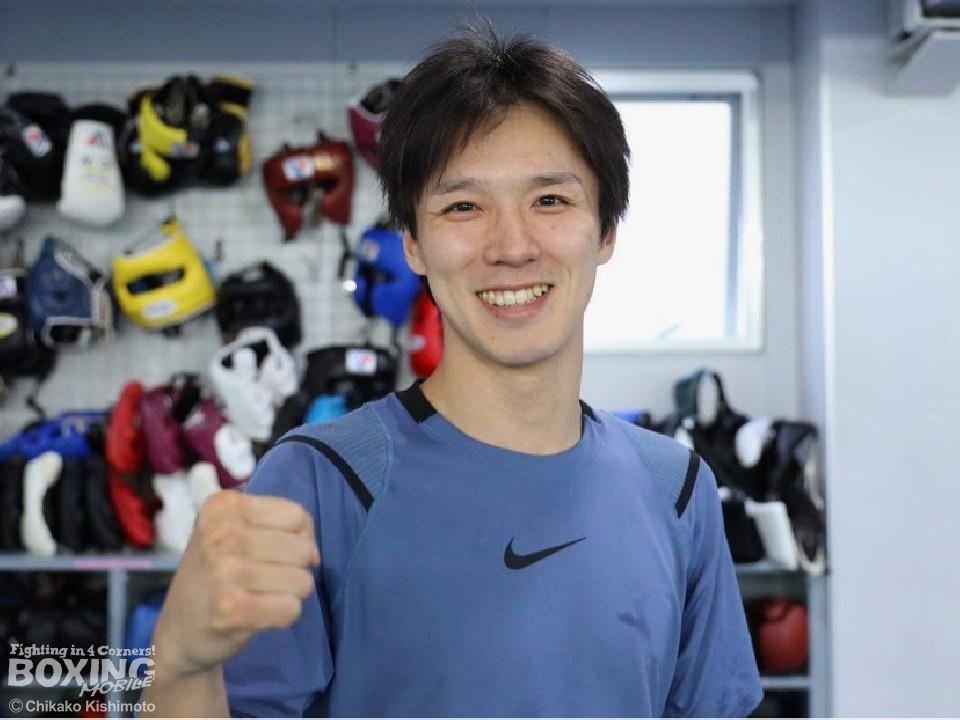 日本スーパーフライ級王者の中川健太(三迫)