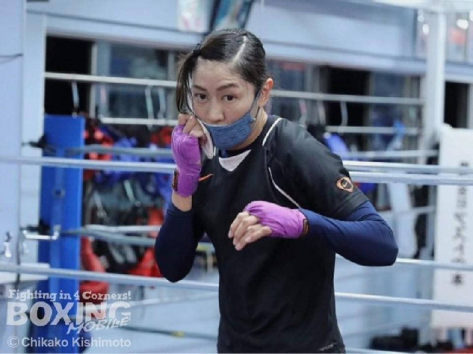 世界初挑戦の奥田朋子(ミツキ)