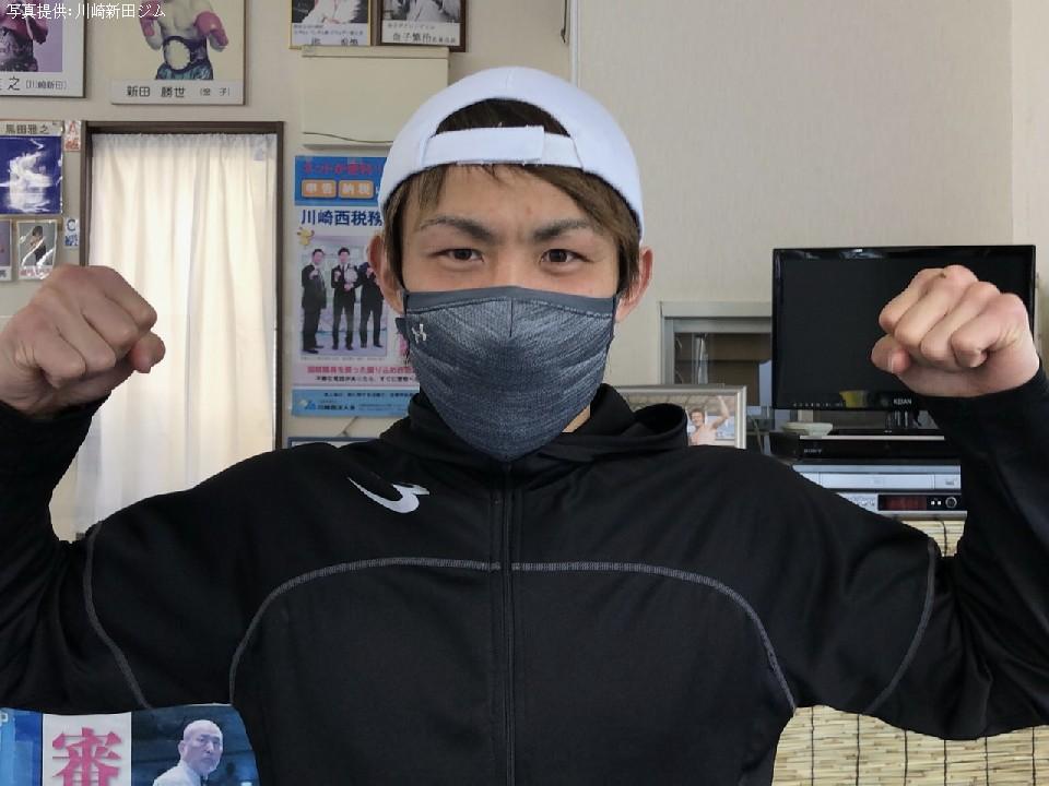 日本スーパーバンタム級1位古橋岳也(川崎新田)