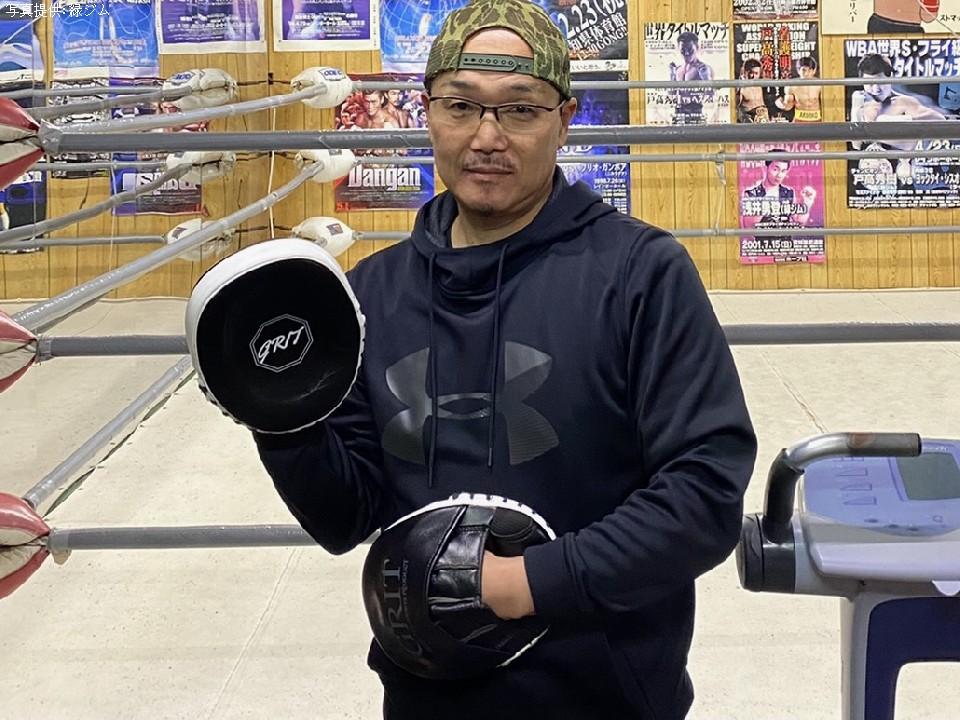 加藤博昭トレーナー(緑ジム)