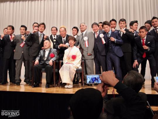原田政彦氏の旭日小綬章記念パーティー