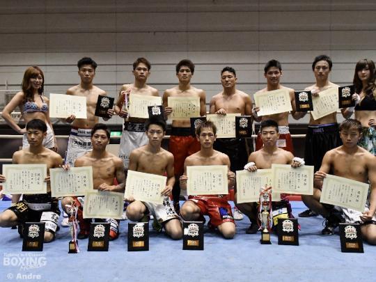 西日本新人王決勝戦で3賞が決定
