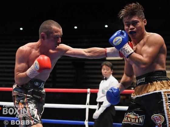 WBOアジアパシフィック・ライト級タイトル戦