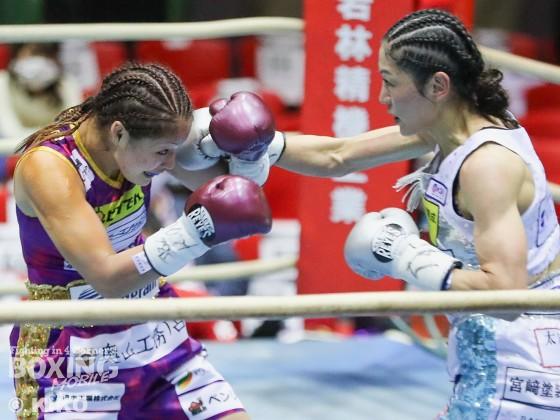 WBO女子世界スーパーフライ級タイトルマッチ